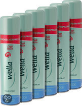 Wella Flex  Heat creation 6x250ml hairspray - Voordeelverpakking