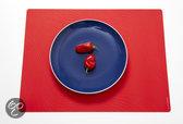 Modern Twist Studio Tide Placemat - 40 x 32 cm - Cherry