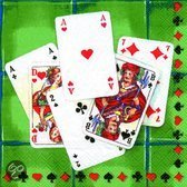 IHR Game Time Servetten - 16.5 x 16.5 cm - Groen