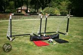 5 x 5 Voetbal Set - Jeugd - Complete set met doeltjes, bal, pomp, hesjes en natuurlijk handige opberg/transportas