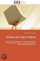 Syntaxe de L AGNI Indenie