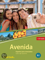 Libro del alumno + CD audio Avenida