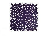 Make My Day Placemat - 31.5 x 31.5 cm -  Aubergine