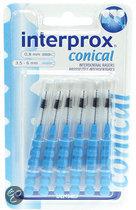 Interprox Interdentaal Conisch 3.5-6 mm - 6 st - Rager