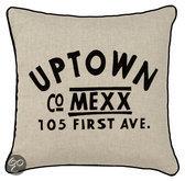Mexx Uptown Cushion Taupe - 40 X 40cm