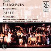 Highlights from Gershwin: Porgy & Bess; Bizet: Carmen Jones