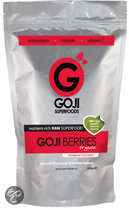 Goji Superfoods Goji Bessen (biologisch/raw) - 600 gram  - voedingssupplementen - Superfood