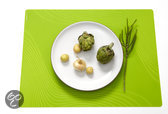 Modern Twist Studio Tide Placemat - 40 x 32 cm - Lime