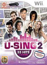 U-Sing 2 (35 Hits + U-Store) + 1 Microfoon