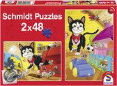 Schmidt Puzzel - Verstoppertje Spelen