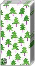 IHR Twee Trees Zakdoekjes Kerst