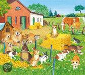Ravensburger Houten Puzzel - Dieren Op Het Platteland