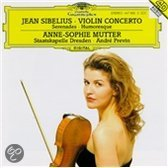 Sibelius: Violin Concerto, Serenades, etc / Mutter, Previn