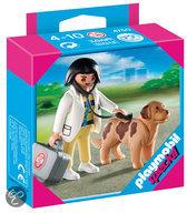 Playmobil Dierenarts Met Hond  - 4750