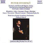 Italian & French Opera Arias / Peter Dvorsky, Lenard