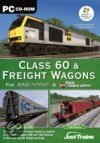 Just Trains pc CD-ROM Class 60 + Freight Wagons - for Railworks + Rail Simulator