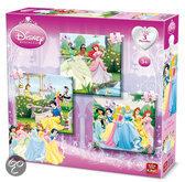 Disney 3 in 1 Puzzel Princess