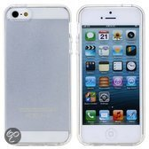 Hoesje voor iPhone 5 & 5S - Siliconen - Transparant
