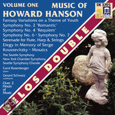 Music of Howard Hanson Vol 1 / Schwarz, Rosenberger, et al