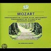 Mozart: String Quartets Nos. 17 & 19
