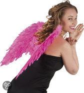 Engelenvleugels gevouwen - Roze