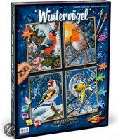 Schipper Schilderen op Nummer - Winter Vogels