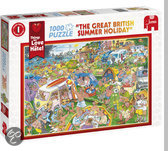 Jumbo The Great British Summer Holiday - Puzzel - 1000 stukjes