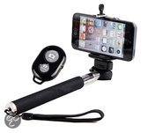 Selfie stick wireless bluetooth monopod