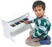 Luxe witte piano voor kinderen