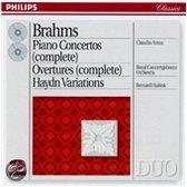 Brahms: Piano Concertos, Overtures / Arrau, Haitink