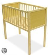 Bebies First Wieg - 80x40cm - Recht - Naturel