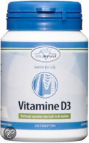 Vitakruid Vitamine D3 5mcg - 250 Tabletten