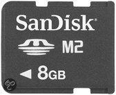 Sandisk SDMSM2G-008G-E11 M2 8  GB PSP-Go geheugenkaart