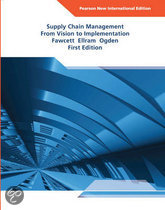 Supply Chain Management: Pearson  International Edition