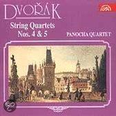 Dvorak: String Quartets no 4 & 5 / Panocha Quartet