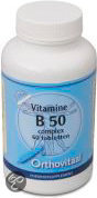Orthovitaal Vitamine B-50 Complex  - 60 Tabletten - Vitaminen