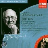 Britten: Cello Symphony; Cello Suite; Shostokovich: Cello Concerto No. 1