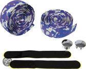 Dyto Cork - Stuurlint - Wit/Blauw/Paars