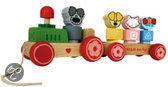 Woezel & Pip Houten Trein met wagon