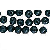 52 stuks zwarte kralen 10 mm