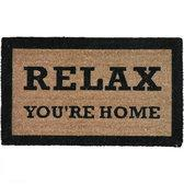 Mars & More - Kokosmat - Deurmat - Relax You're Home - 45x73cm