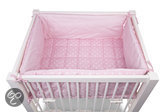 CHILDWOOD - Playpen In A Bag - Vichy Dot Pink