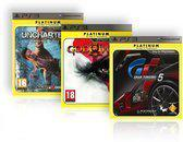 Essentials Voordeel verpakking God of War 3 + Gran Turismo 5 + Uncharted 2