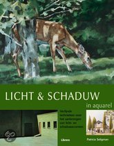 Licht en schaduw in aquarel