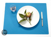 Modern Twist Studio Tide Placemat - 40 x 32 cm - Aqua Blue