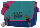 Replay Classic Messenger - Girls - Groen - Blauw