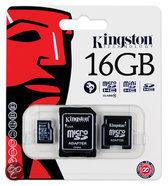 Kingston Micro SD kaart 16 GB