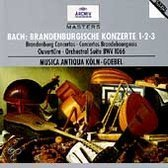 Bach: Brandenburgische Konzerte 1, 2, 3, etc / Goebel, Koln