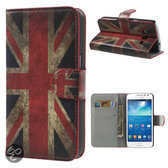 UK Vlag wallet hoesje Samsung Galaxy Express 2
