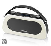 View Quest Bardot DAB+ Bluetooth Speaker - Zwart/Wit